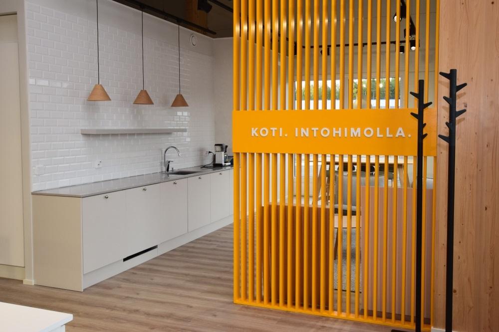 Designtalo aukaisi studion Brand toimitilojen rakentamaan kiinteistöön