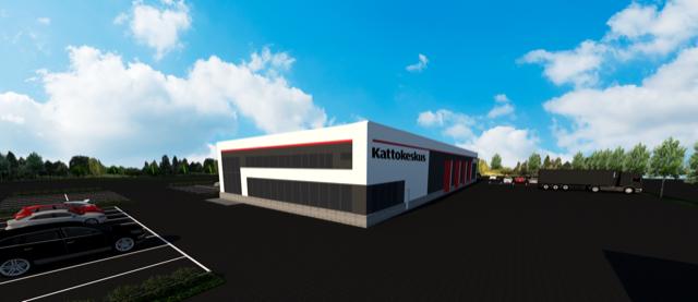 Kattokeskukselle uudet tilat Kuopioon