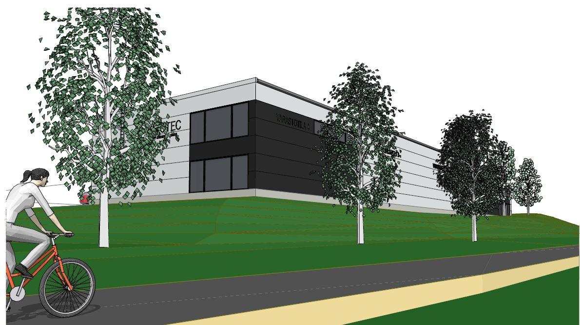 BRAND toimitilat rakentaa uutta toimitilaa Rototecille Vantaalle