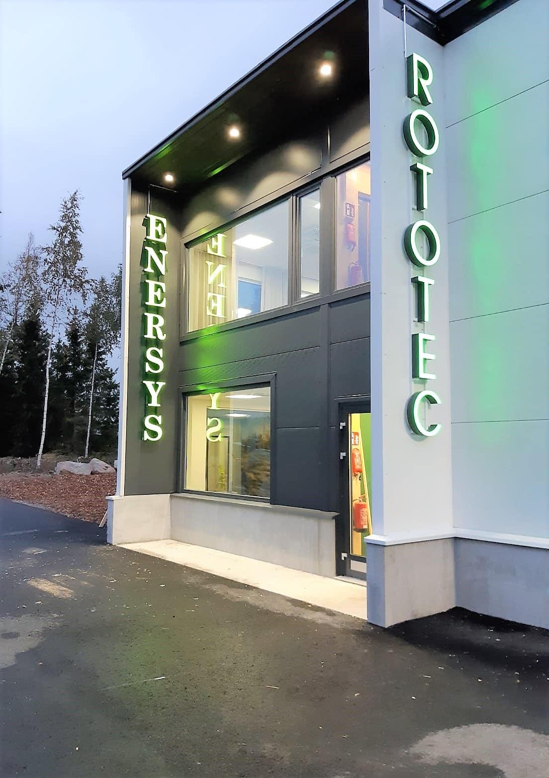 BRAND toimitilat rakensi uuden toimitilan Rototecille Vantaalle